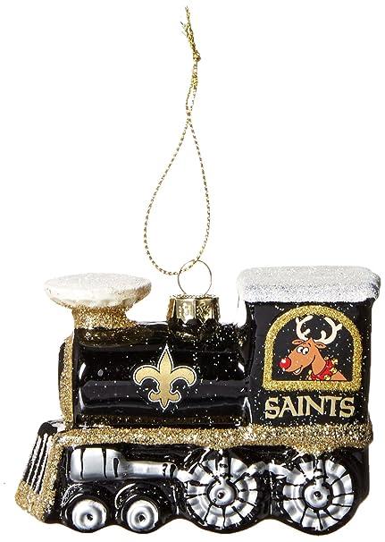 New Orleans Saints Christmas Ornaments.Nfl New Orleans Saints Train Ornament