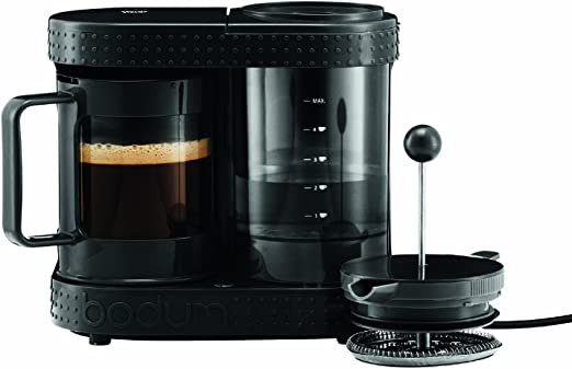 Bodum Bistro Cafetera eléctrica, 4 tazas, 0,5 l, 550 W, 0.5 litros ...