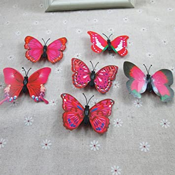 5pcs Butterfly Flower Hair Clip Hair Claw Clamp Party Bridal Hair Pins For Party Wedding Girl's Accessories Girl's Hair Accessories