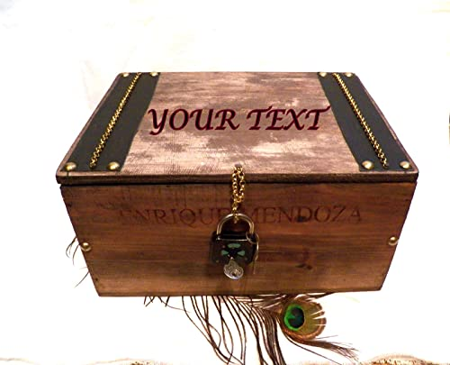 Caja Personalizada Hombre, Caja Madera, Caja Personalizada Boda ...