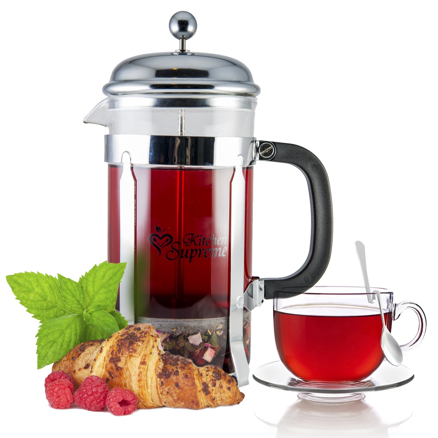Kitchen Tea Gift Amazoncom French Press Coffee Tea Maker Complete Bundle 34