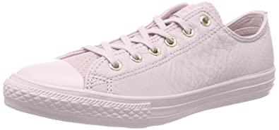 74385c62af47 Converse Kids  CTAS Ox Barely Rose Trainers  Amazon.co.uk  Shoes   Bags