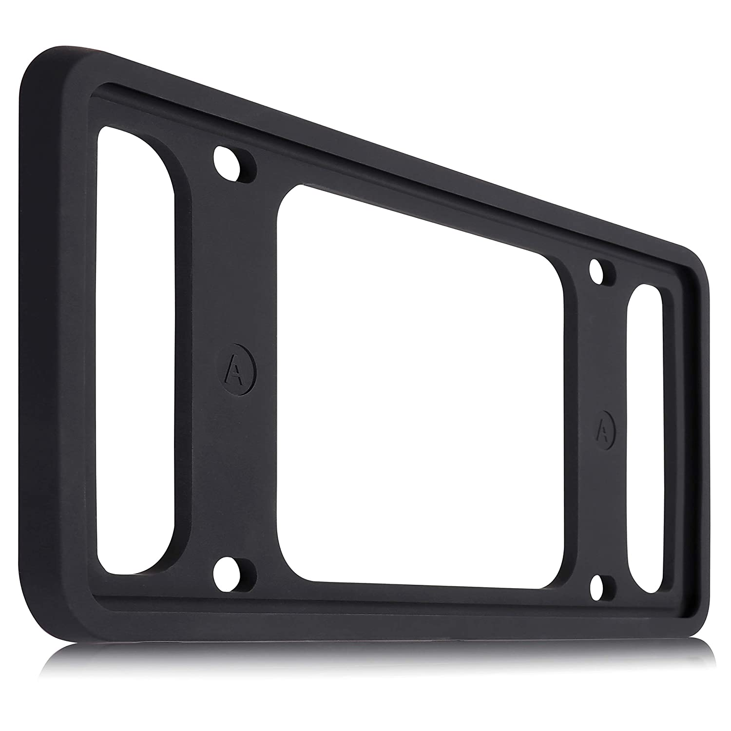 Silicone Frame Version License Plate Frame as License Plate Cover and License Plate Holder for US Vehicles License Plate Anhai License Plate Frame