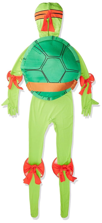 Rubies Disfraz Oficial de Raphael, de Las Tortugas Ninja, Talla de Adulto, Segunda Piel