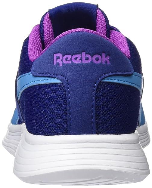 Reebok Royal EC Ride, Zapatillas para Mujer, Azul (Deep Cobalt/Cali Blue/Vicious Violet/White), 38.5 EU