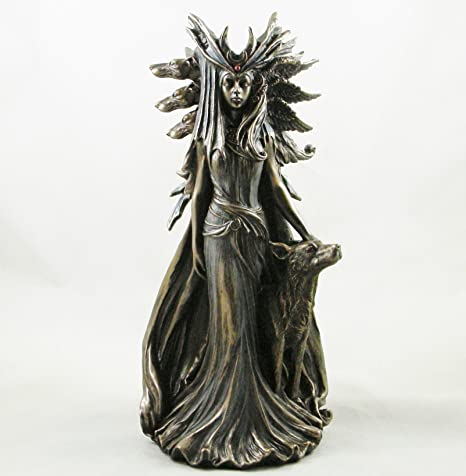 ecate statua  Hekate' dea greca dea della magia statuetta bronzo Hecate statua ...