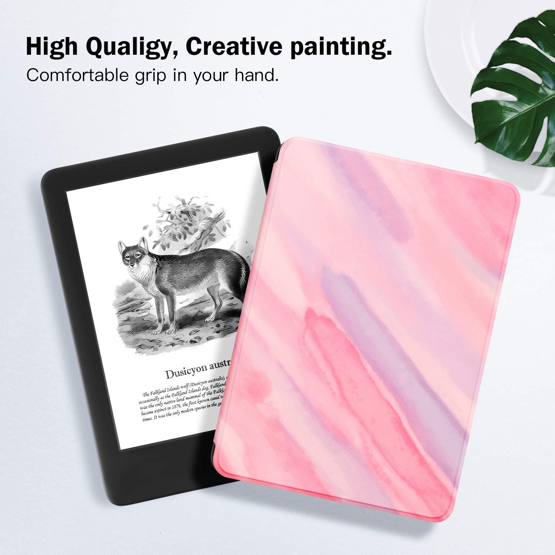 ,The Apricot Flower Estuche Ayotu para Kindle 10/ª generaci/ón, versi/ón 2019 no encajar/á con Kindle Paperwhite o Kindle Oasis - Funda de Cuero de PU Compatible con el Kindle 2019 de