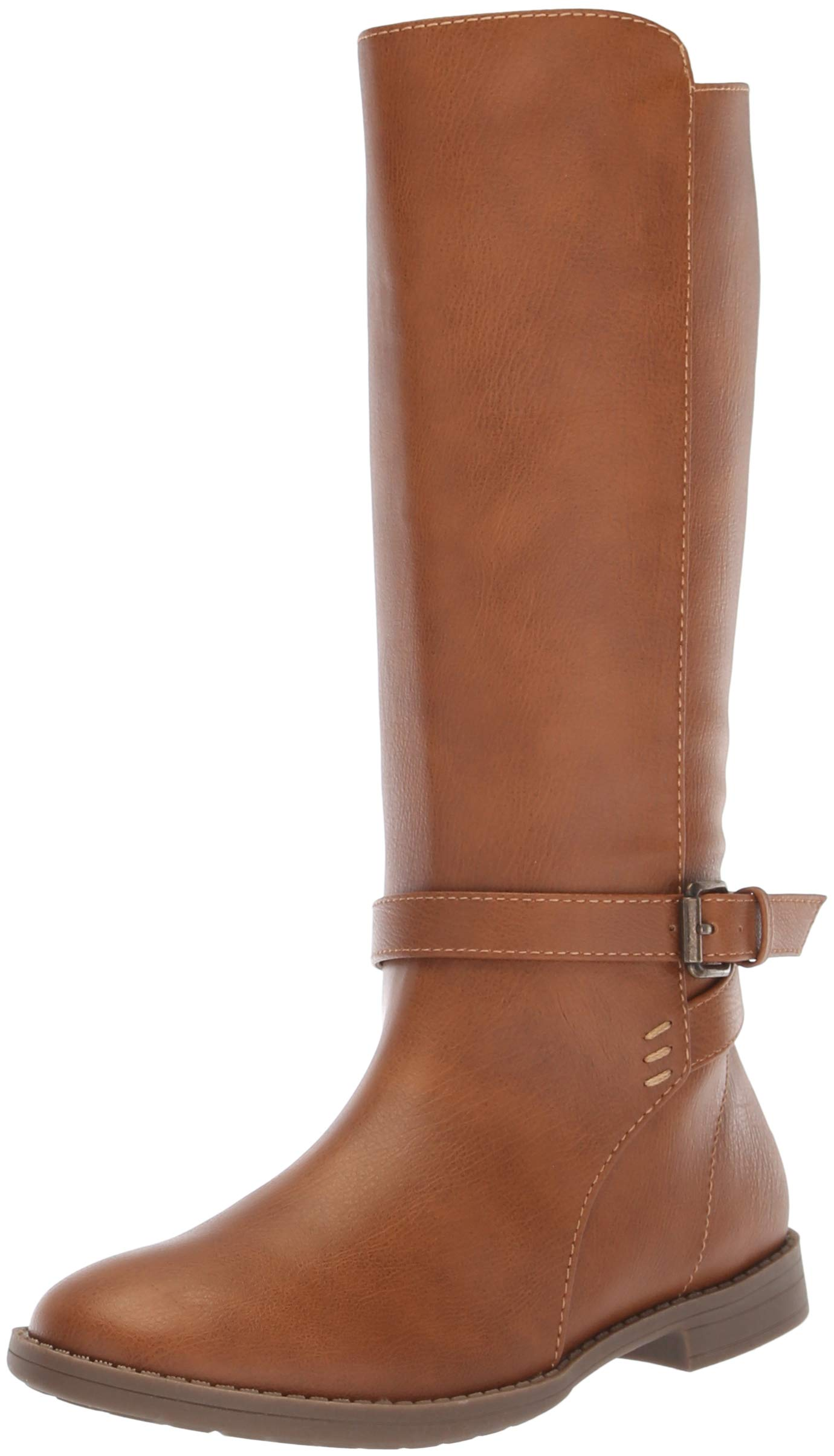 The Children's Place Girls' Tall Fashion Boot, Tan, Youth 12 Child US Little Kid