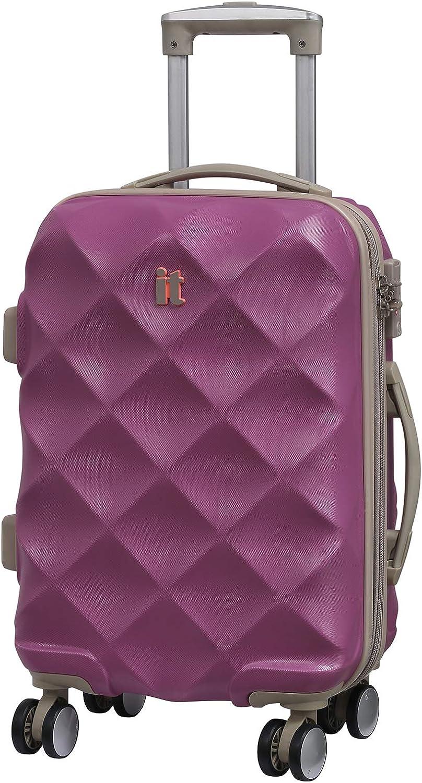 45 L 55 cm it luggage Debossed Diamond Suitcase Brilliant Blue
