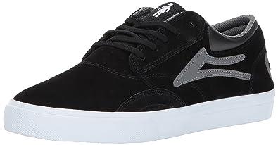 Zapatos Lakai Girl Girl Griffin Collaboration Negro-gris Ante, Negro, 10 UK