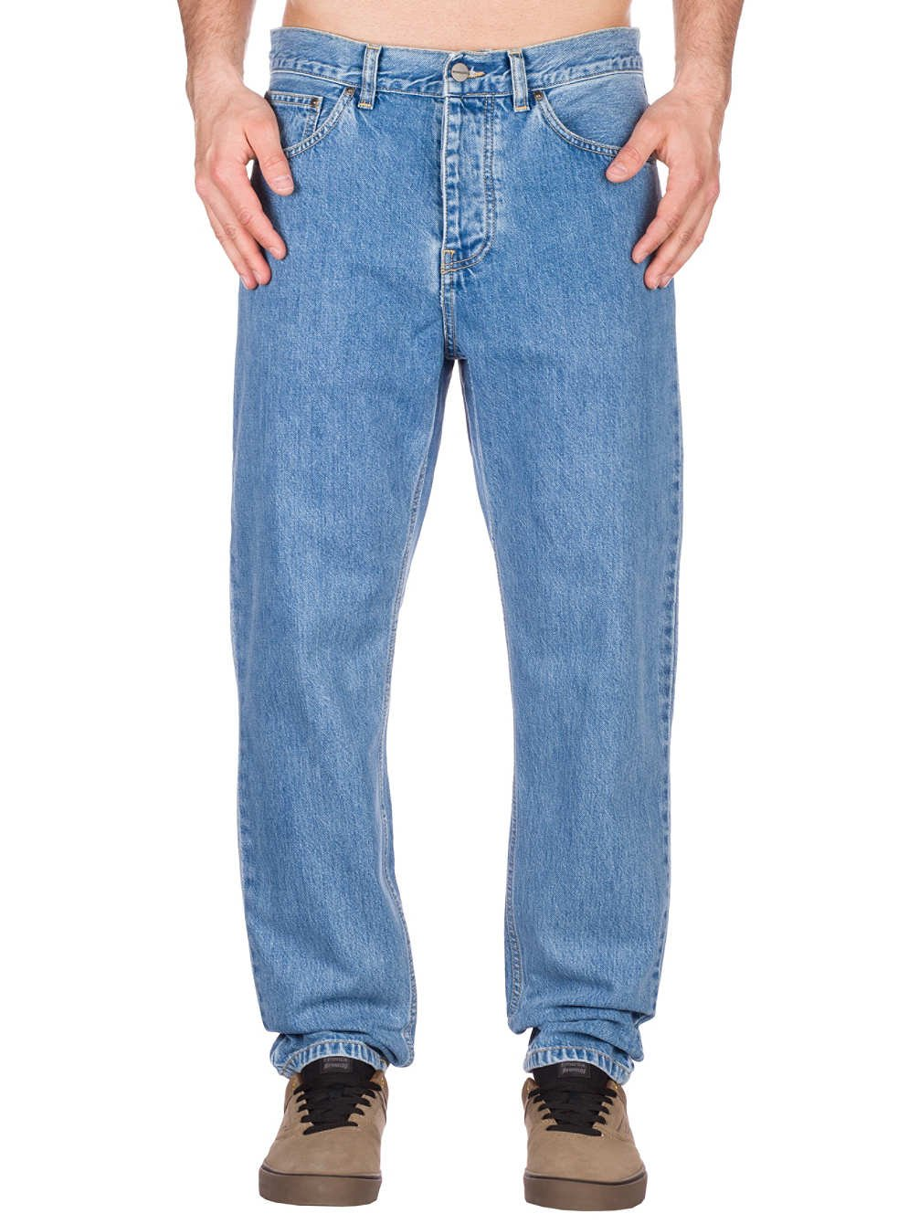Carhartt WIP Newel Pant - Pantalón para hombre, blue stone ...