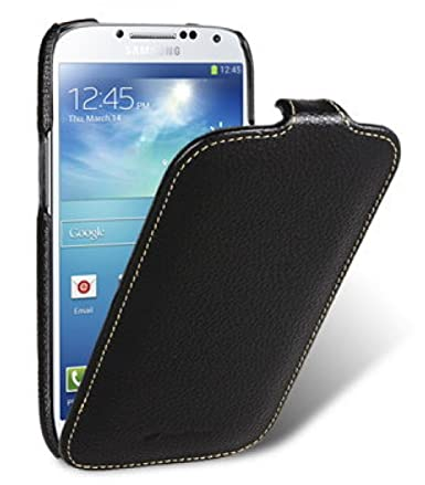 online store 5ce1d 7f448 Melkco Leather Case for Samsung Galaxy S4 GT-I9500 - Jacka Type - (Black) -  SSGY95LCJT1BKLC