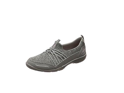 Skechers Empress-Solo Mood, Zapatillas Sin Cordones Para Mujer, Gris (Grey), 36.5 EU