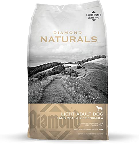 Diamond Naturals Light Dry Dog Food Lamb Meal and Rice Formula