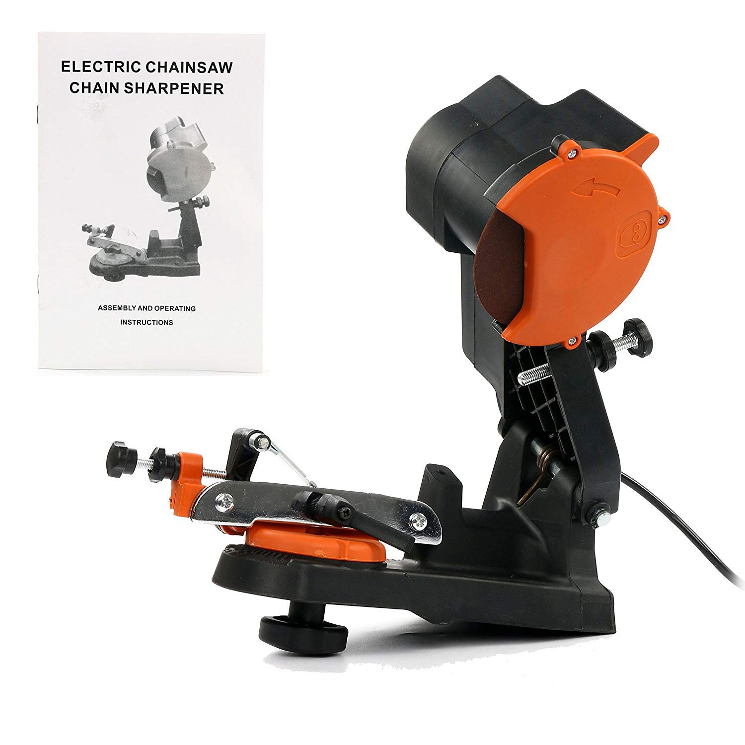 Yaetek Electric Chainsaw Sharpener Chain Saw Grinder 4800RPM Bench Wall or Vise Mount Tool by YaeTek