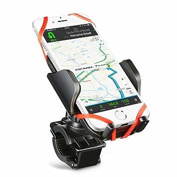 Soporte para bicicleta bicicleta soporte para teléfono, (múltiples protecciones) Mpow Universal manillar abrazadera