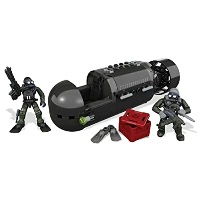 Mega Bloks Call of Duty Seal Sub Recon Building Set: Toys & Games