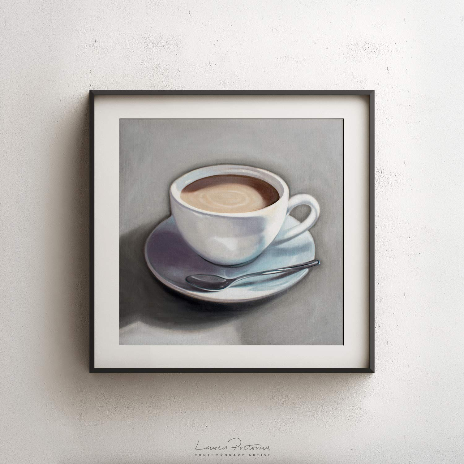 Canvas Pictures Digital Art-Coffee Seed Cup 30 Pattern-De 2546