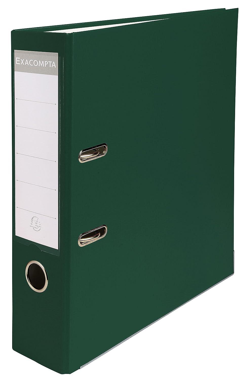 Exacompta 918405B Raccoglitori a Leva, 32x29 cm, Verde Sociologie
