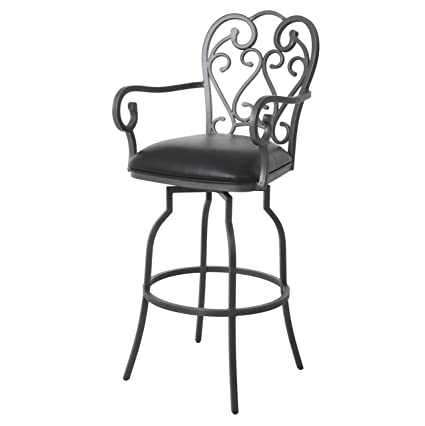 Amazing Amazon Com Impacterra Qlma247373142 Magnolia Ii Barstool Unemploymentrelief Wooden Chair Designs For Living Room Unemploymentrelieforg