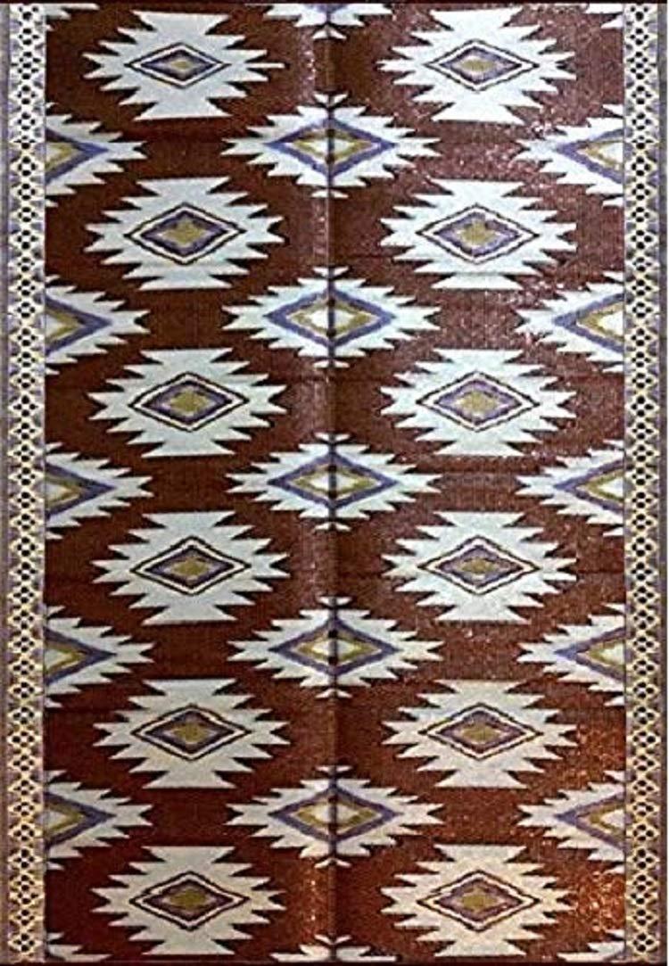 6'x9' indoor outdoor patio rugs mats camping picnic mats 4460