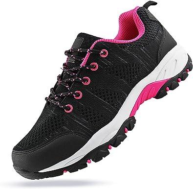 Jabasic Women Hiking Shoes Breathable