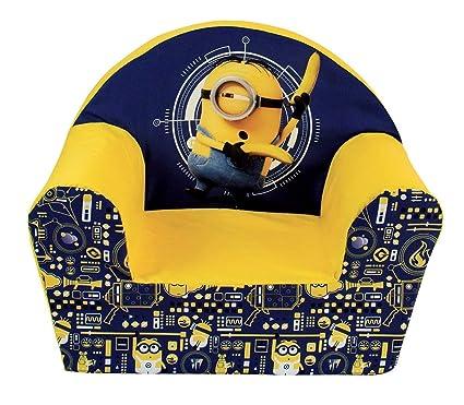 Surprising Fun House 712719 Club Chair Foam For Children Despicable Me Inzonedesignstudio Interior Chair Design Inzonedesignstudiocom