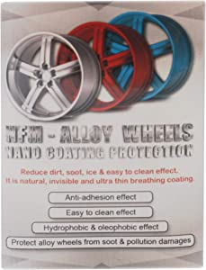Nano NFM Metal Protector Wheel Rims Anti Adhesion Protective Layer [Water Oil Mud Dust Repellant] Great for Stainless Steel, Aluminum, Silver – Anti Rust Protection for Motorcycles, Bikes - 30ml