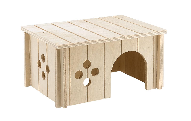 Ferplast Sin 4645 Wooden Guinea Pig House 26x18.5x13.5cm