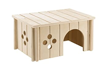 Ferplast 84645099 Conejos Casa Sin 4645, de madera, medidas: 26 x 17,3 x 13 cm: Amazon.es: Productos para mascotas