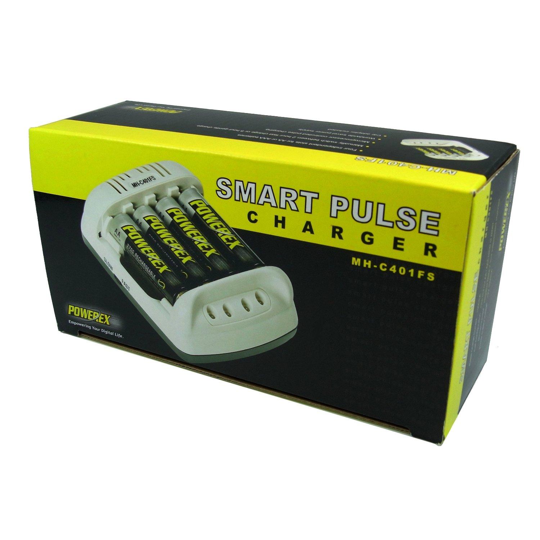 Powerex Smart Pulse Charger MH-C401FS - Cargador: Amazon.es ...