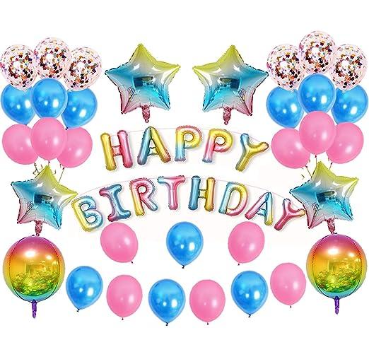 Decoracion Cumpleaños y 1er Pancartas de Cumpleaños Para ...