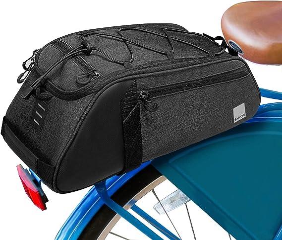 Extensive Large Capacity Bicycle Seat Pannier Amarine Made Bike Trunk Bag 68L