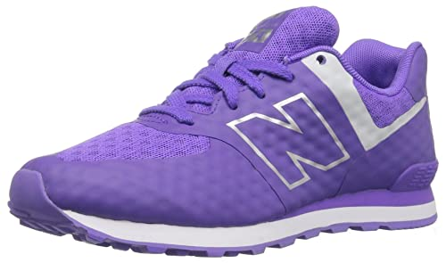 New Balance Kl574 Stivaletti Unisex Bambini Multicolore Bleached Violet 4