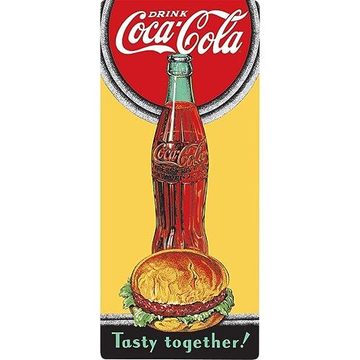 Im?n de Coca-Cola Hambuger Esta?o Nevera: Amazon.es: Hogar
