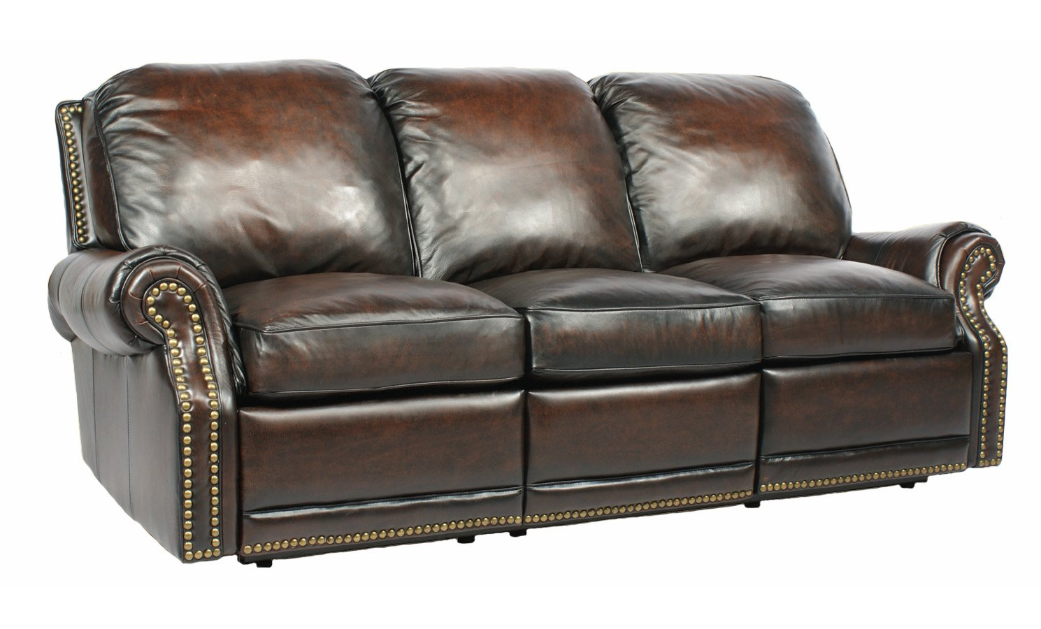 Amazon.com Power Recline BarcaLounger Premier II Electric Reclining Sofa - Stetson Coffee Kitchen u0026 Dining  sc 1 st  Amazon.com & Amazon.com: Power Recline BarcaLounger Premier II Electric ... islam-shia.org
