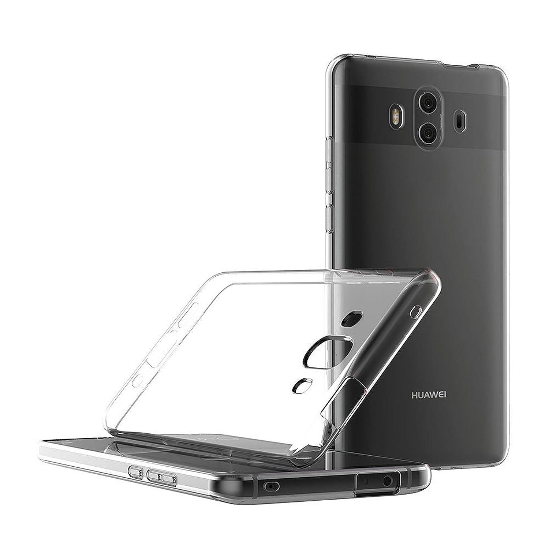 5.9 Pulgadas TBOC/® Funda de Gel TPU Transparente para Huawei Mate 10 de Silicona Ultrafina y Flexible