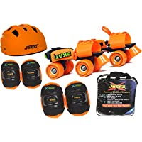 Jaspo Speed Lovers Intact Senior Skates Combo (Skates+Helmet+Knee+Elbow+Bag) Suitable for Age 6 to 14 Years