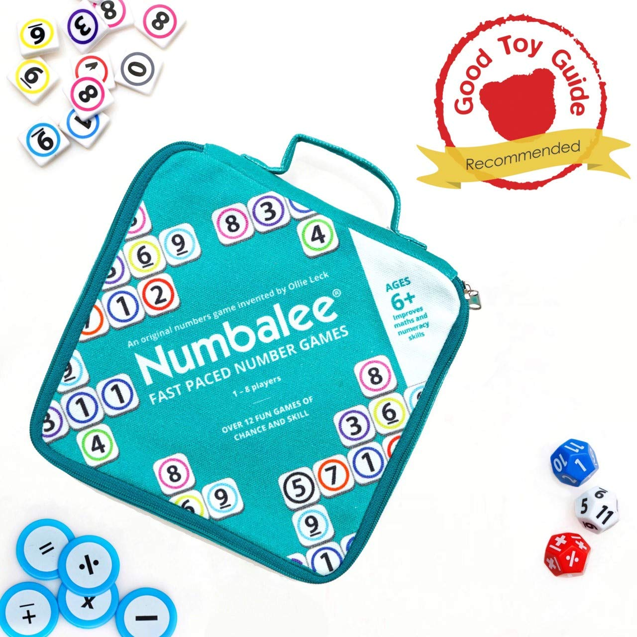 NUMBALEE is the best Educational Numbers game around. This pack ...