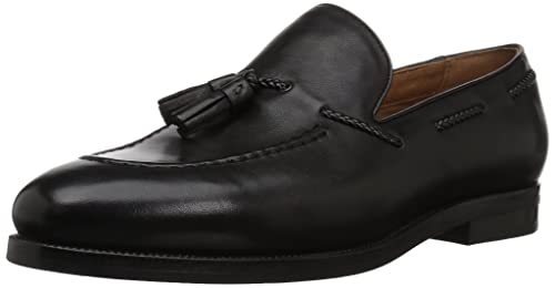7bdf237ae9c Aldo Feodore Slip-on Loafer Black Leather 7 D(M) US  Amazon.in ...