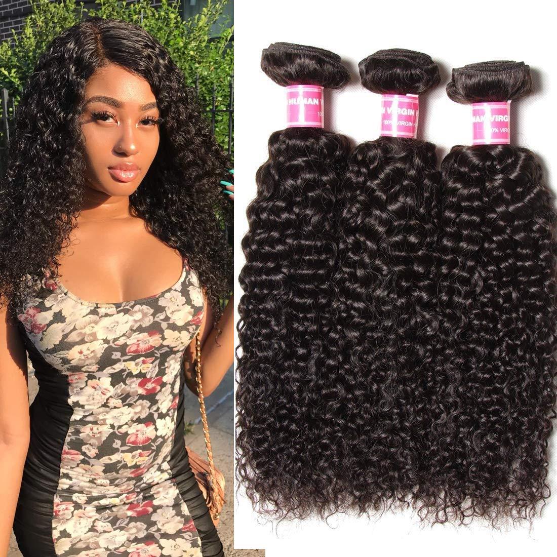 Amazon Longqi Beauty Peruvian Curly Hair 3 Bundles Peruvian