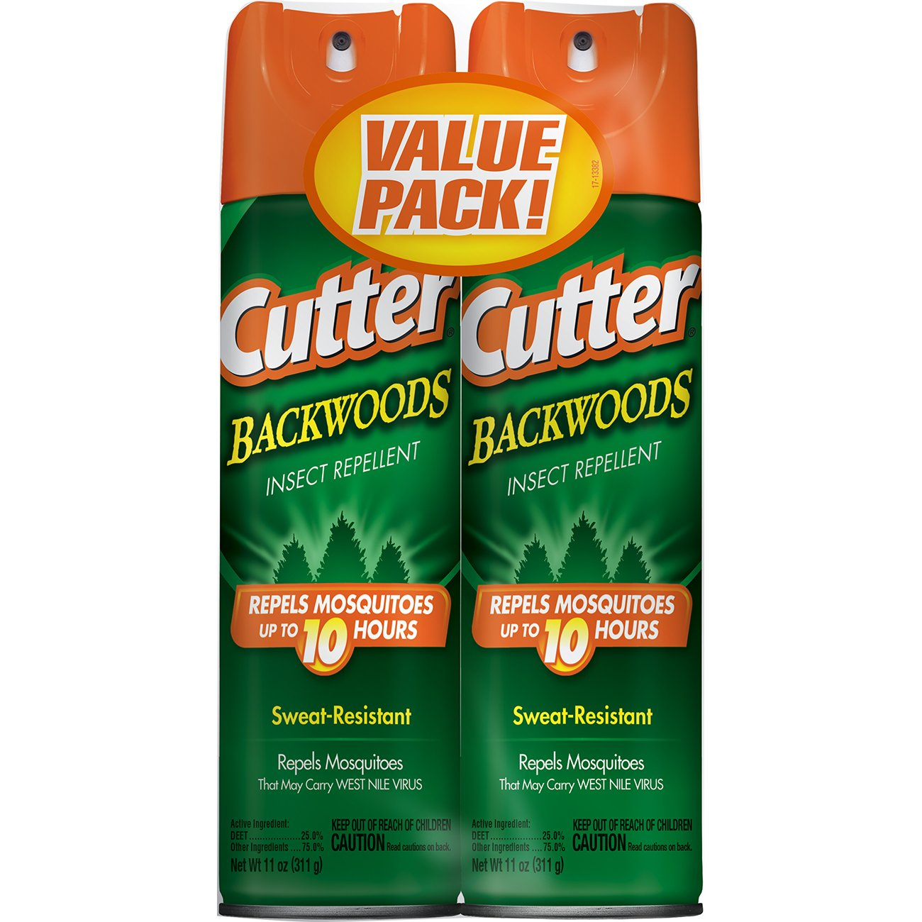 amazon com cutter 2 pack backwoods aerosol insect repellent 6
