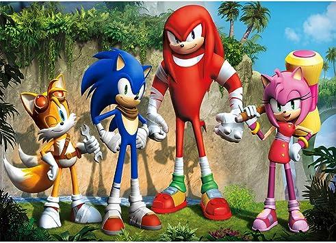 Amazon Com Photography Background Sonic 7x5 Cartoon Landscape