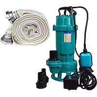 Bomba de aguas residuales + trituradora FURIATKA1100+20M, 1100 W, 230 V, manguera de 20 m