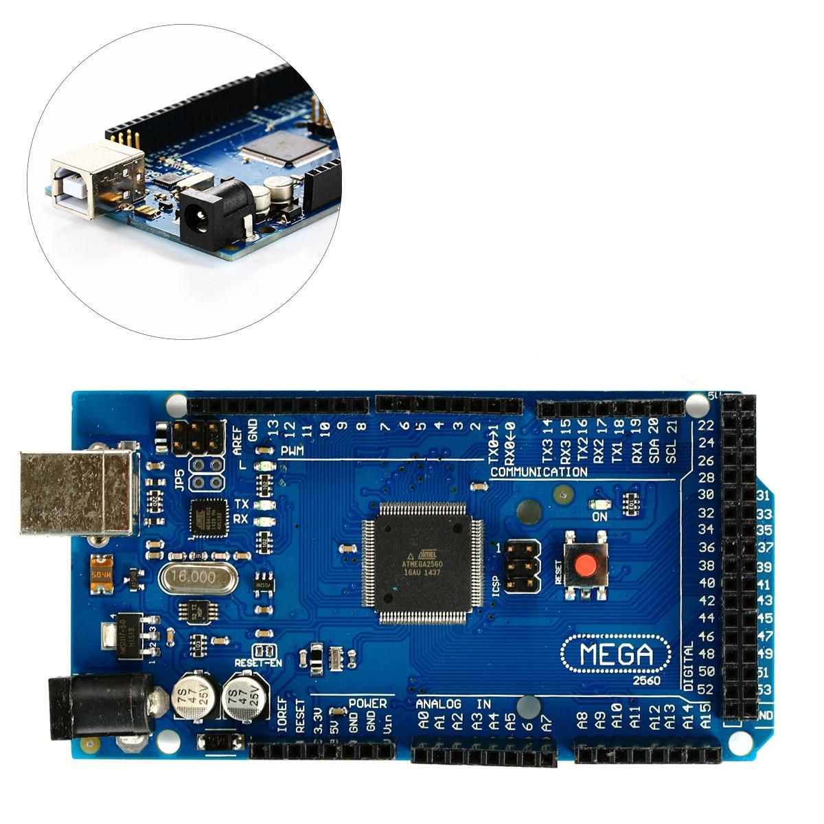 XCSOURCE Rampas 1.4+ A4988 + Mega2560 R3 + LCD 12864 Kit de controlador de la impresora 3D RepRap TE377: Amazon.es: Electrónica