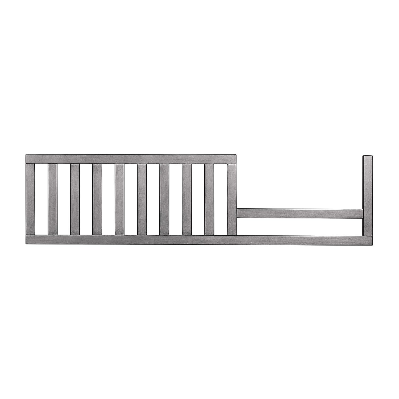 Evolur 811-SGY Toddler Guard Rail Convertible Crib, Storm Grey Dream on Me