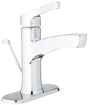 Moen WSL84733 One-Handle High Arc Bathroom Faucet, Chrome - - Amazon.com