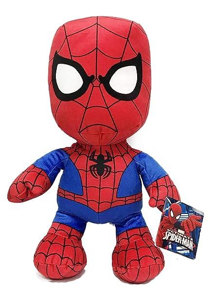 "Amazon.com: Spiderman 12"" Supersoft Juguete de peluche ..."