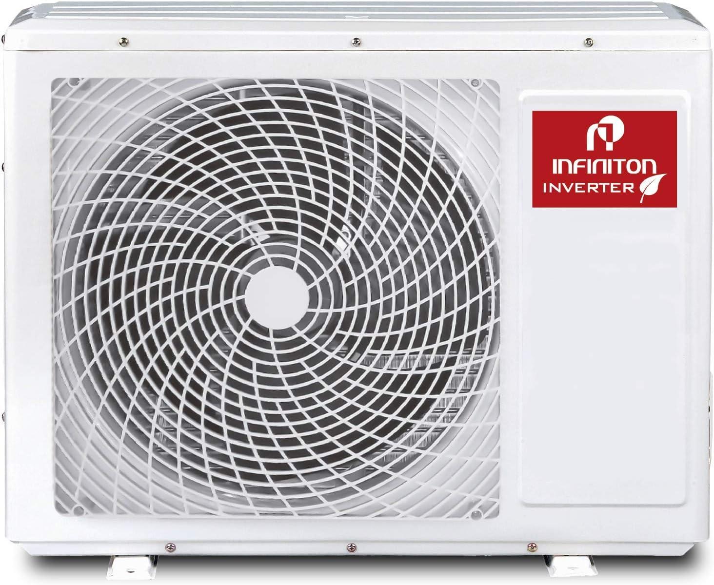 INFINITON Aire Acondicionado Split 6220MB (A++, Inverter, Gas R32 ...