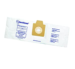 Janitized JAN-EC934-2(10) Premium Replacement Commercial Vacuum Bag, Euroclean UZ934 and UZ932 Canister Vacuum Cleaners Includes Pre-Filters, OEM#1406905020, 1406905010 (Pack of 10)
